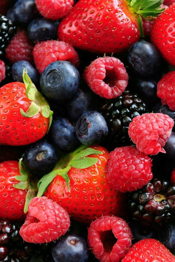 Berries #vitamins #healthy