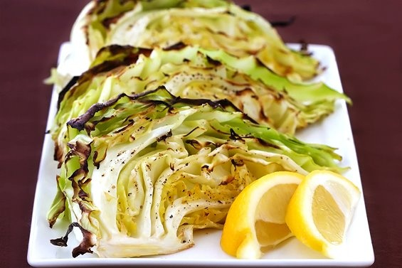 Roasted cabbage wedges | Healthy Food | Pinterest