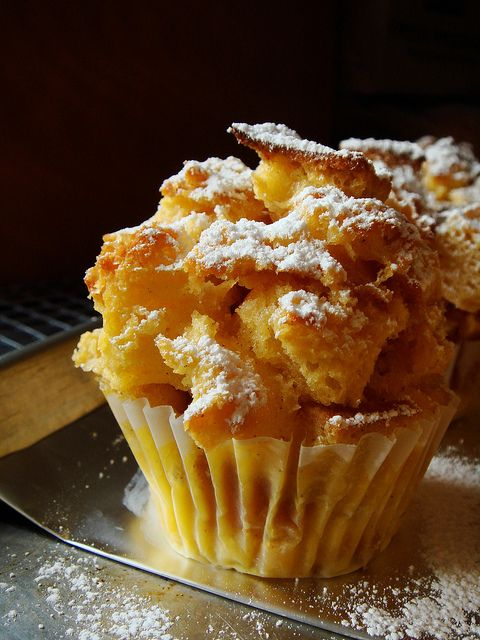 Bread Pudding Muffins at Dessert By Candy