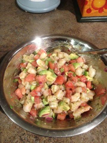 REVIEW - Zesty Lime Shrimp and Avocado Salad