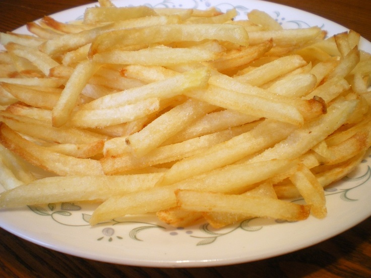 Crispy Homemade French Fries | Recipe