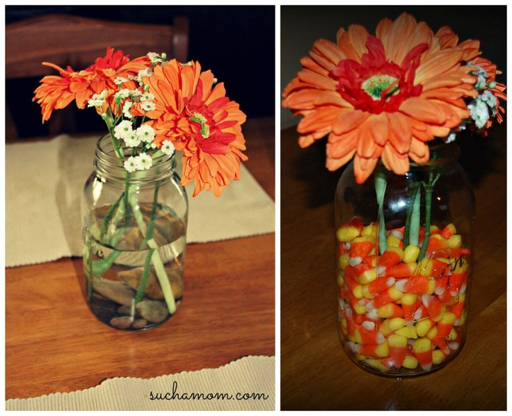 Easy Fall Centerpiece FALL TABLE DECORATIONS SHOPPE Pinterest