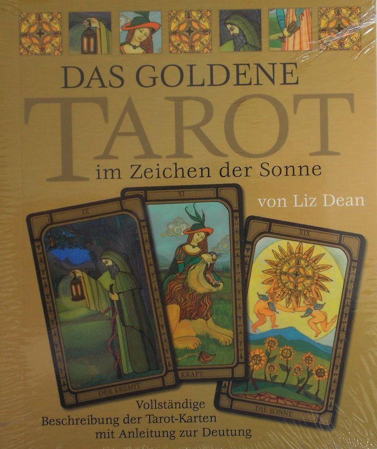 Pin by Tarotbg on #Tarot #decks from the world. | Pinterest Golden Tarot Liz Dean