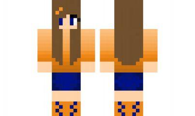 Minecraft skin sun girl girl minecraft skins pinterest