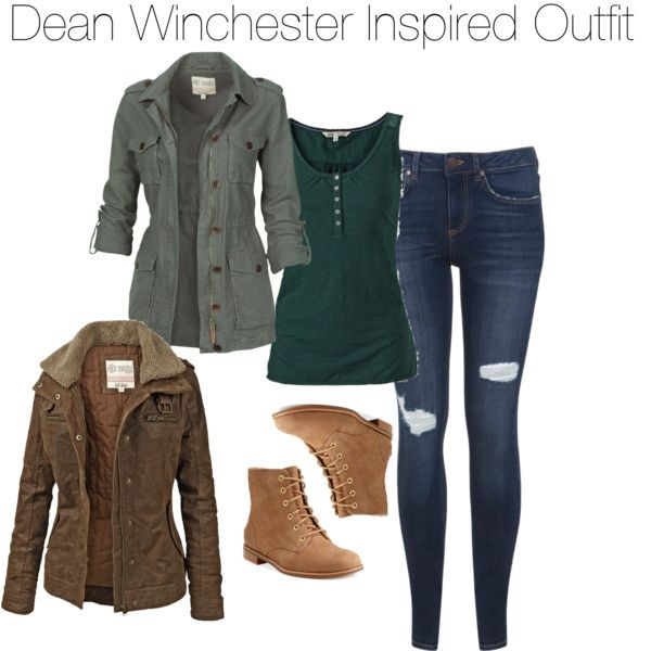 Dean Winchester Inspired Outfit | Dean Winchester Outfits | Pinterest