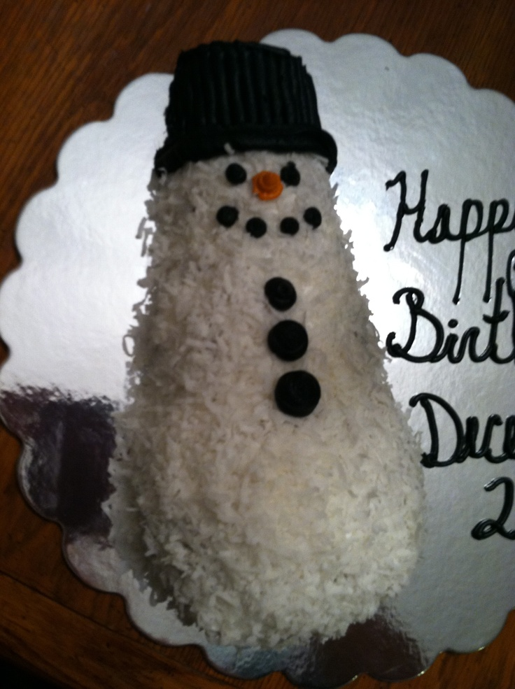 coconut snowman cake. | made with love. | Pinterest