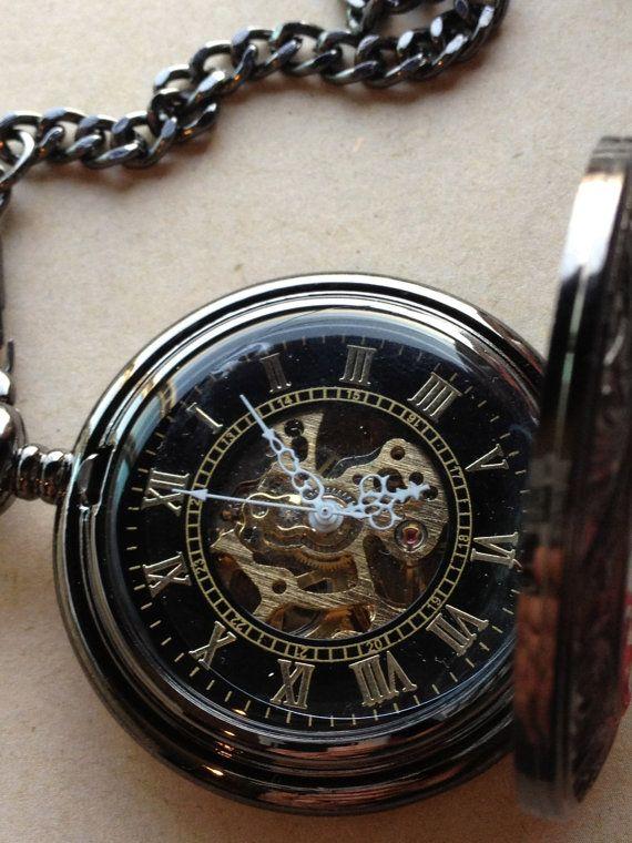 steunk pocketwatch mens vintage
