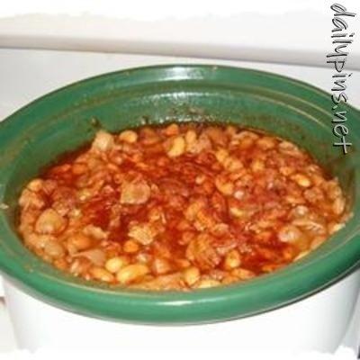 Slow Cooker Baked Beans | Favs | Pinterest