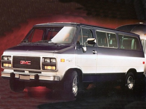 Gmc rally van #4