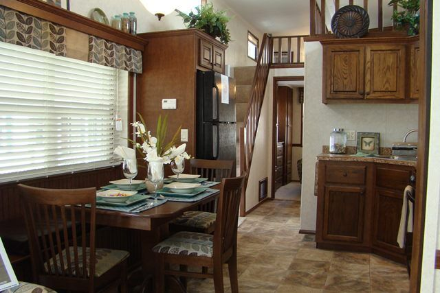 Pin by jenny shaver on park model rv 39 s pinterest for Model homes images interior