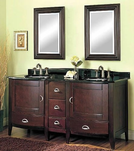 Collage bath double vanity fairmont designs bathroom for Bathroom ideas amazon