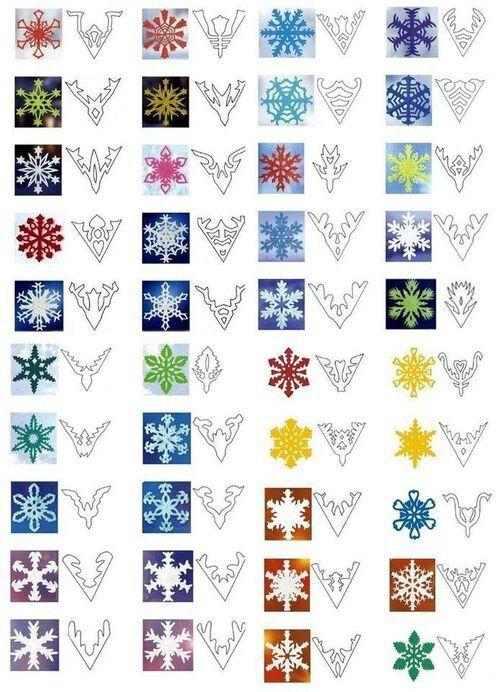 Snowflake patterns paper pinterest for Diy snowflakes paper pattern
