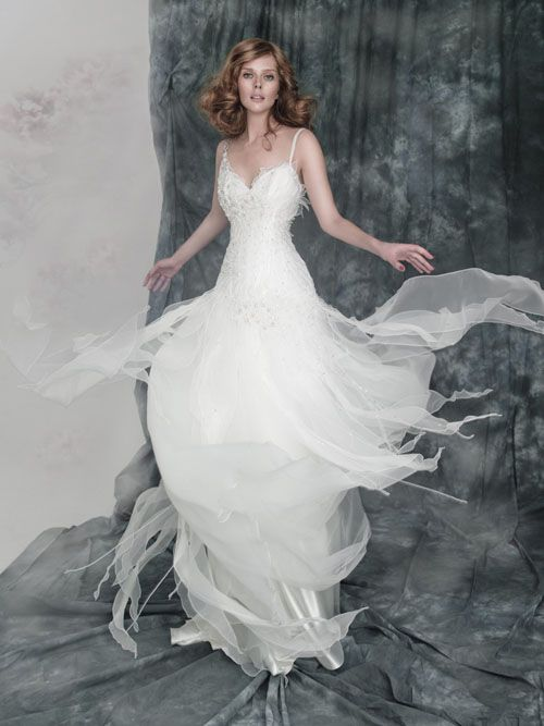 Unique Beach Wedding Dress