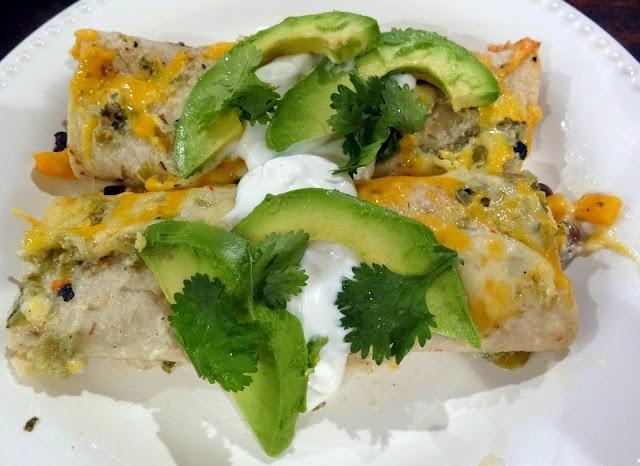 Butternut Squash Enchiladas | Recipes - Main Dishes | Pinterest