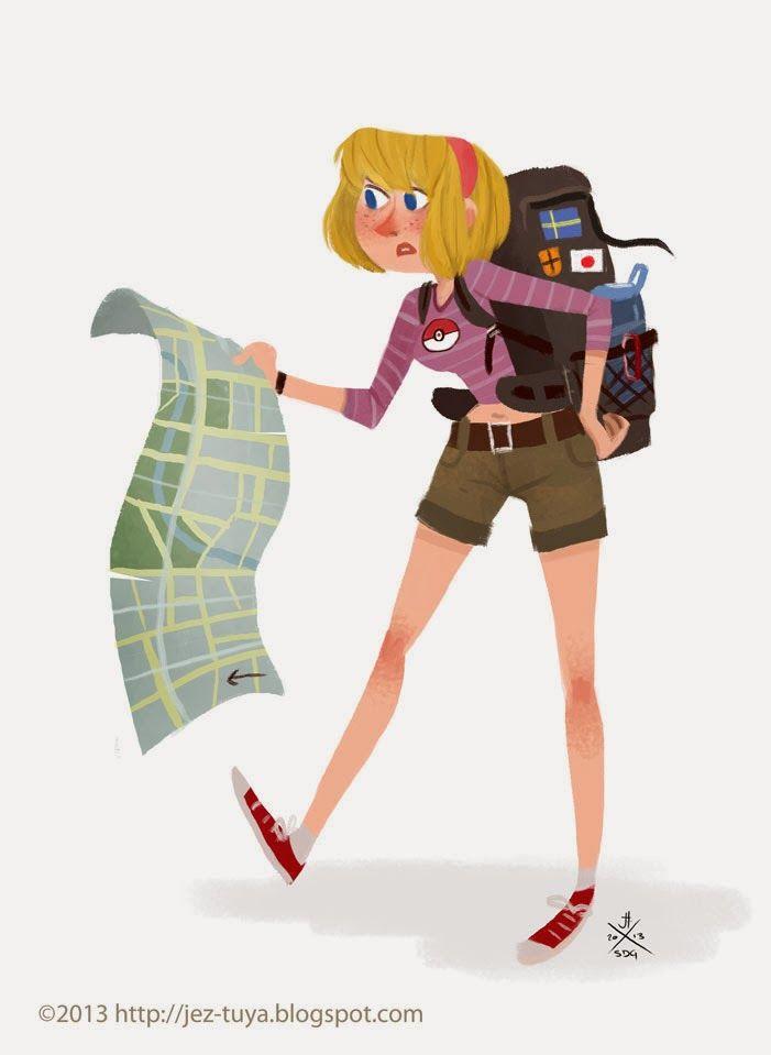 Jez Tuya Illustration | Cartoon character design | Pinterest