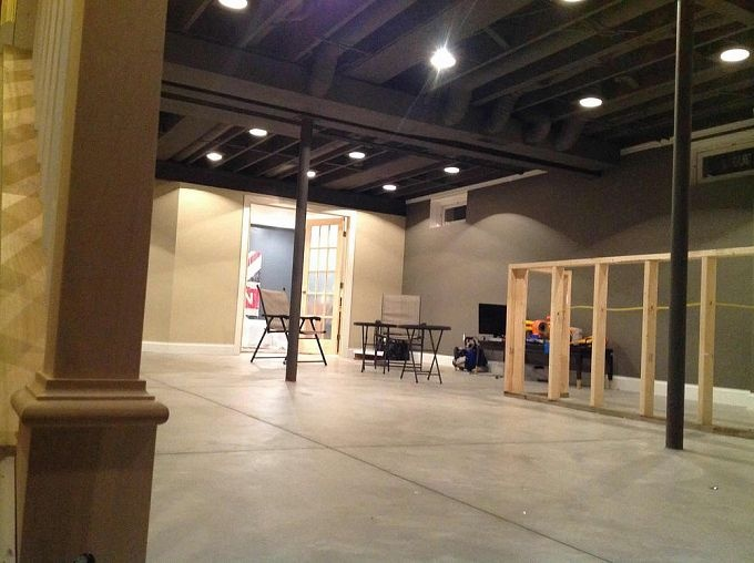 my industrial basement remodel is mycurrentproject