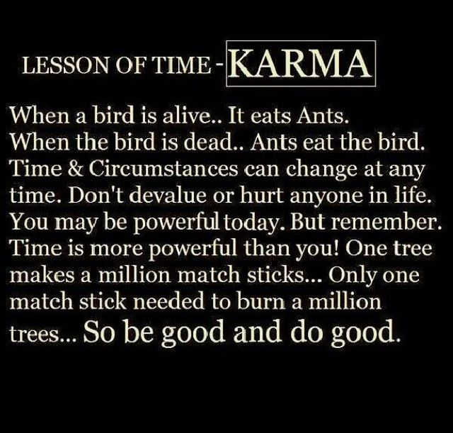 Famous quotes about karma quotesgram for All about karma