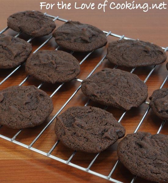 COCOA FUDGE COOKIES | Yummy | Pinterest