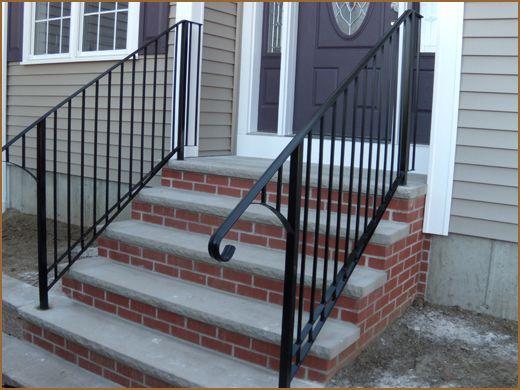 iron railings front porch railings pinterest