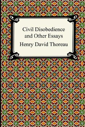 Civil Disobedience and Other Essays (Dover Thrift Editions) Paperback ...