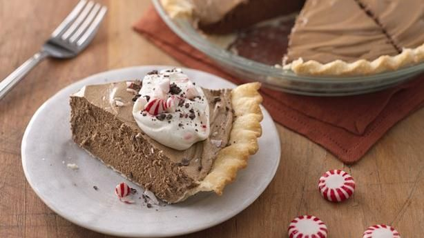 Peppermint Mocha French Silk Pie | Recipe