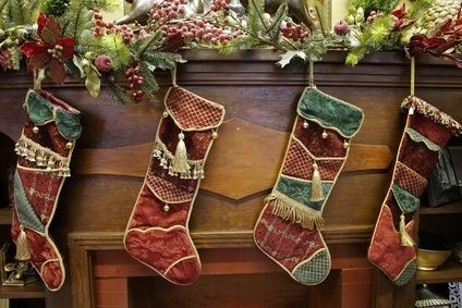 How to Make Primitive, Skinny Christmas Stockings thumbnail --  http://www.ehow.com/how_4600184_make-primitive_-skinny-christmas-stockings.html
