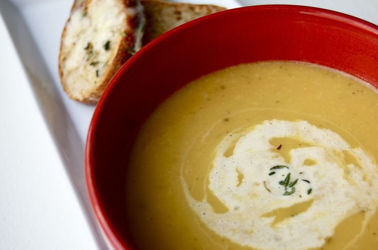 Winter Squash Soup with Gruyère Croutons | Yummy Summer CSA | Pintere ...