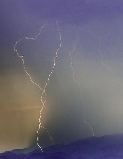 lightning heart  ~it looks broken:(
