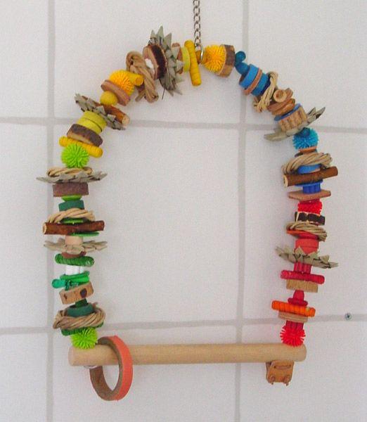 Home Made Bird Toys 56