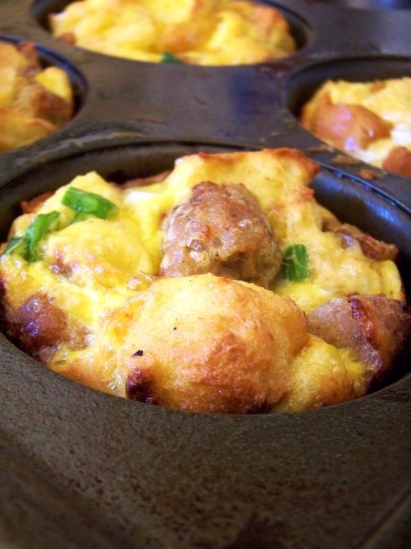 Chicken Sausage Breakfast Bread Pudding | Breakfast | Pinterest