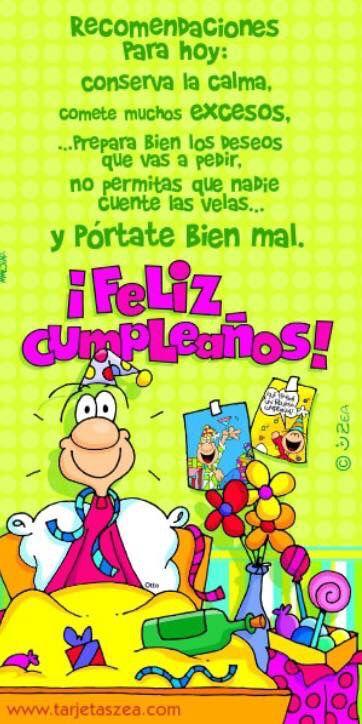 На испанский язык поздравление