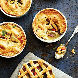 Cooking Light's version of chicken pot pie - a lighter version that ...