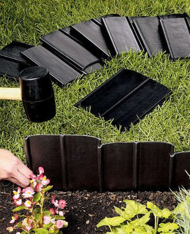 Landscape edging 10 easy ways to set your garden beds apart for Easy gardener lawn edging
