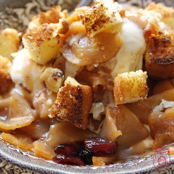 Caramel Apple Sundae Recipe — Dishmaps