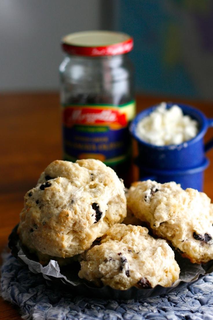 Greek Drop Biscuits | Indigo Scones | Pinterest