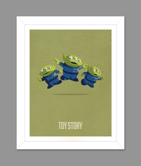 toy story print aliens - photo #35
