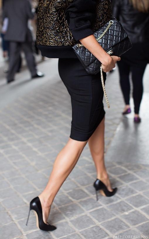 high heels pencil skirt a must uniforms for