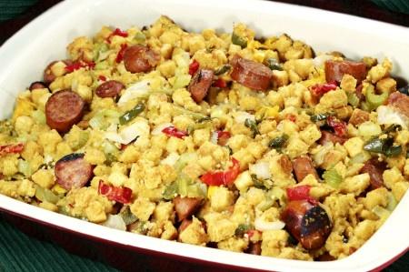 Chorizo and Cornbread Stuffing | Yummy Recipes | Pinterest