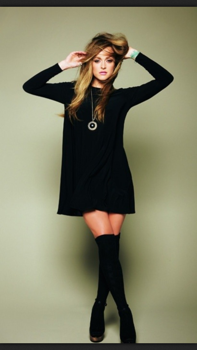with a black dress fashion