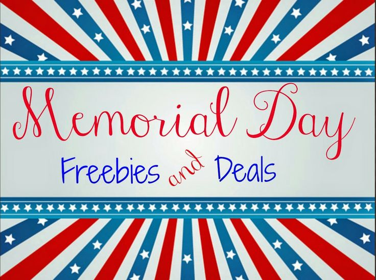 memorial day specials for veterans