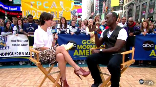 good morning america interviews don cheadle on new film