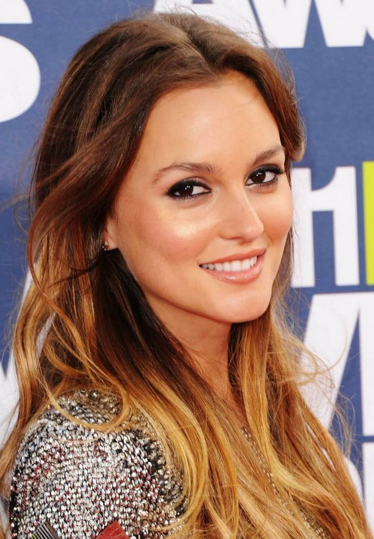 Leighton Meester / sun kissed makeup