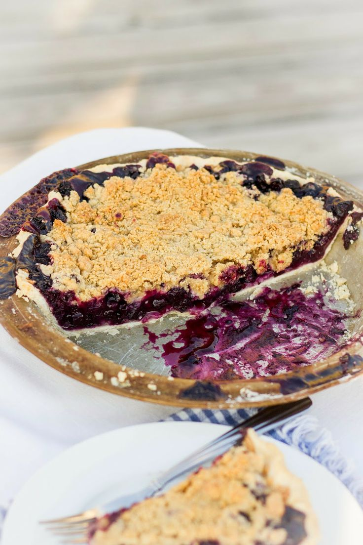 Blueberry Crumble Pie | recipes | Pinterest