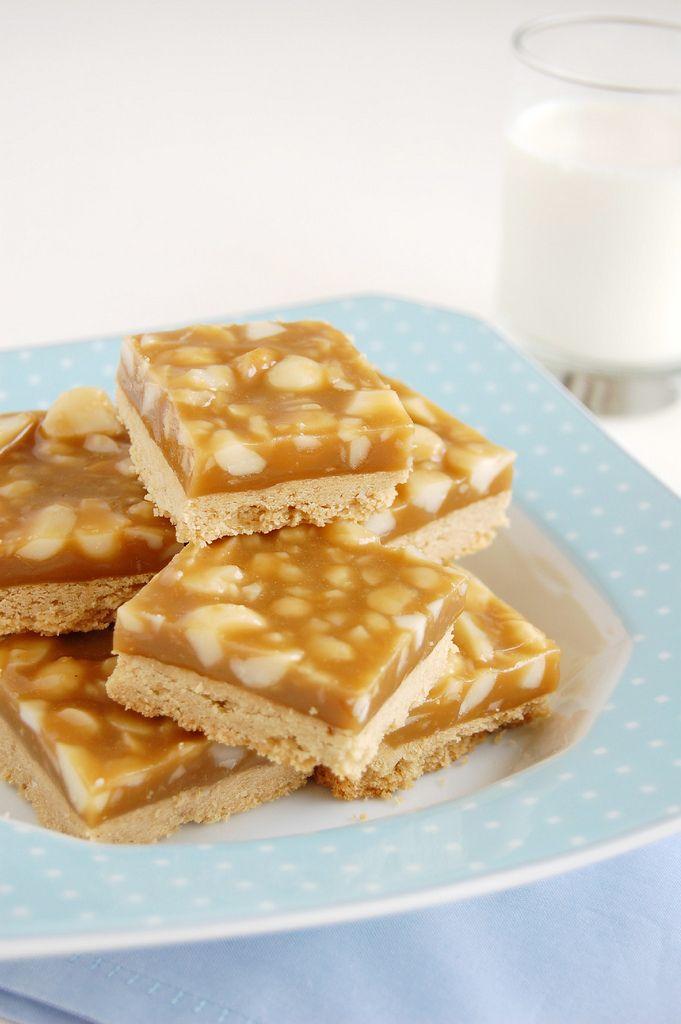 Macadamia maple sticky bars!   Maple   Pinterest