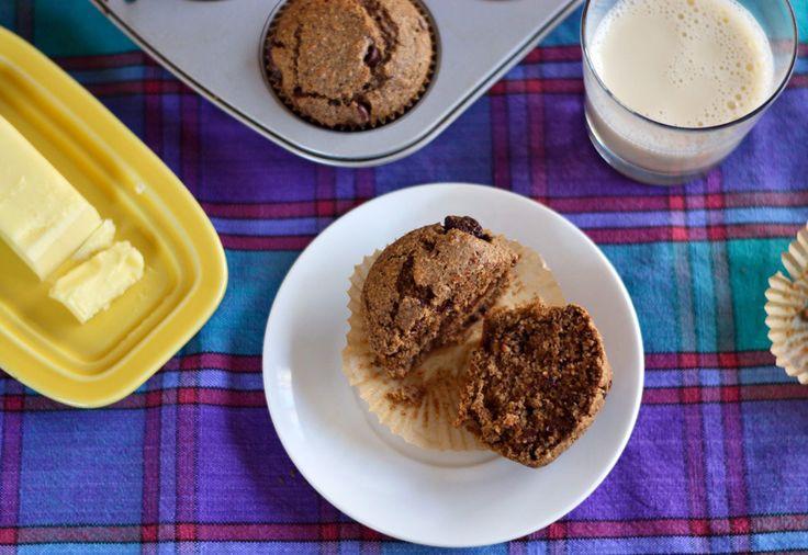 Espresso Chocolate Bran Muffins   Recipes   Pinterest