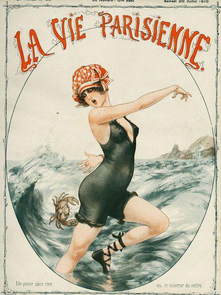 Inspiration and Crafts: La Vie Parisienne - Vintage magazine