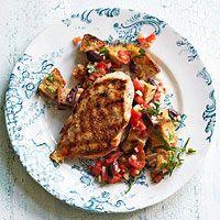 Shells with Fresh Tomato-Tarragon Sauce   Recipe