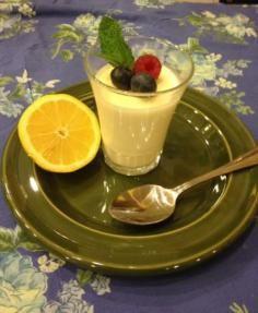 Lemon Cream with Berries | recipes | Pinterest