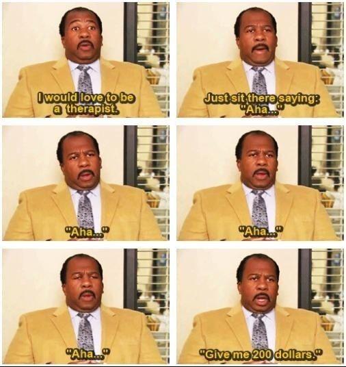 I love Stanley Hudson. :)