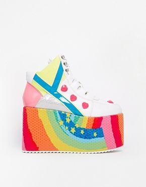 Agrandir YRU - Qozmo - Chaussures montantes à plateforme plate
